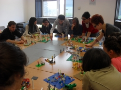 Lego® Serious Play®: a tool to improve the involvement of social stakeholders. How to turn the abstract concepts (eg. sustainability or innovation) in a tangible artifact that you can transform, modify, shape and share.