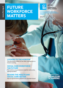 CfWI Future workforce matters - Issue 1