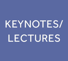Giving keynotes and lectures in projects and events