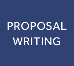 Professional support to proposal writing
