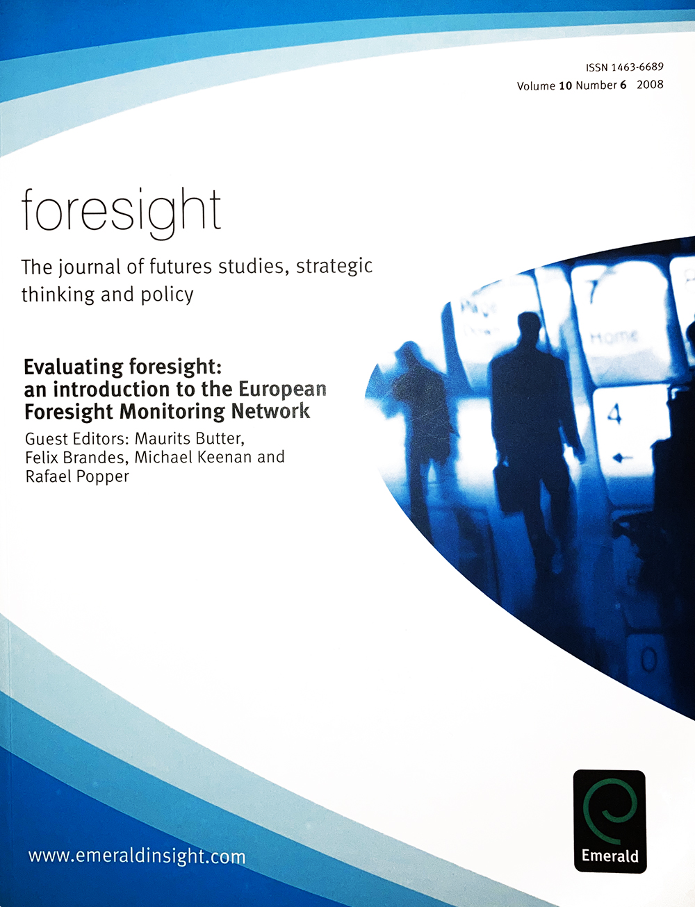 Foresight 2008 Special Issue