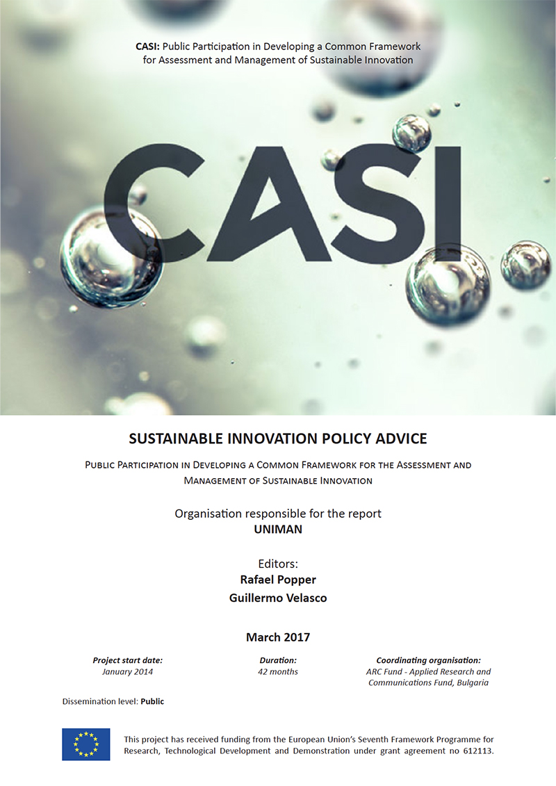 Sustainable Innovation Policy Advice